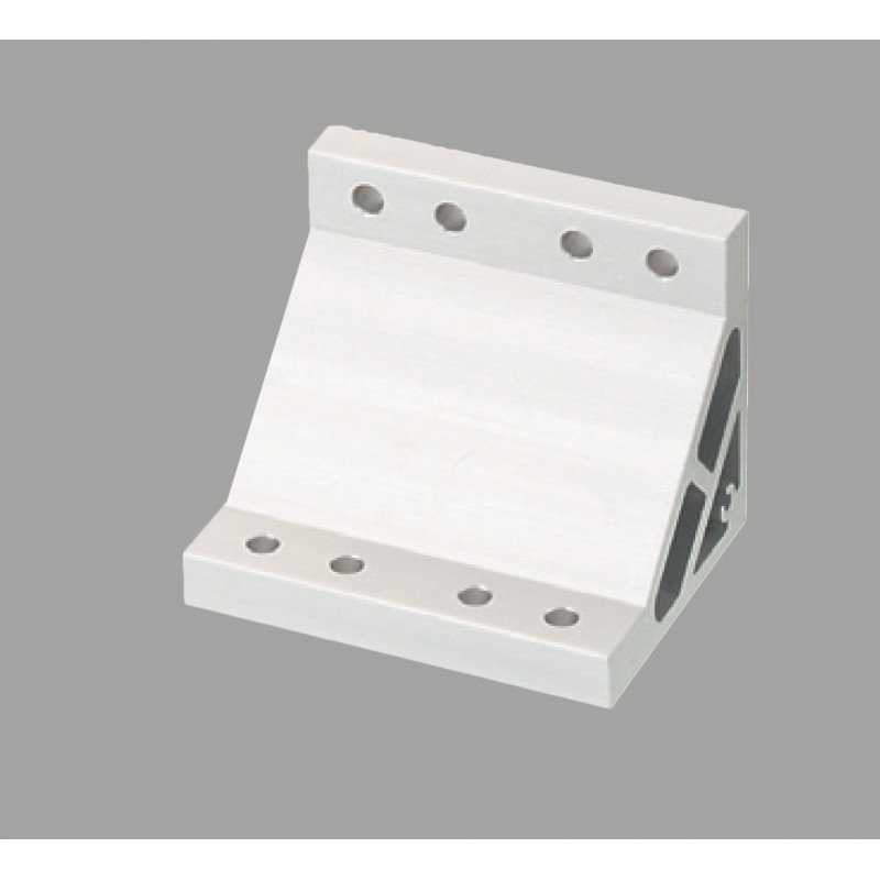 Fastening bracket for 50x50 profile with 8 mm slot