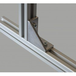 Long fastening bracket for 45x45 profile