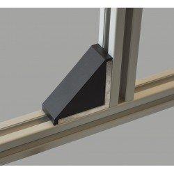 Long fastening bracket for 45x45 profile