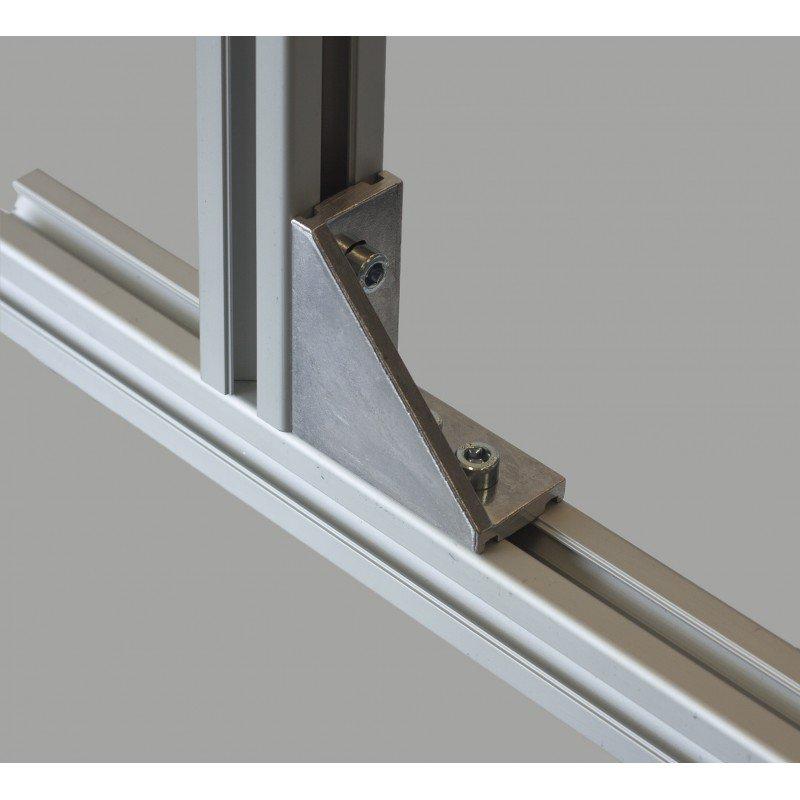 Long fastening bracket for 30x30 profile