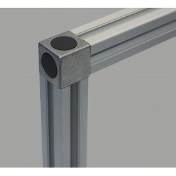 Assembly connector 45x45 – 2 ways 10mm profiles