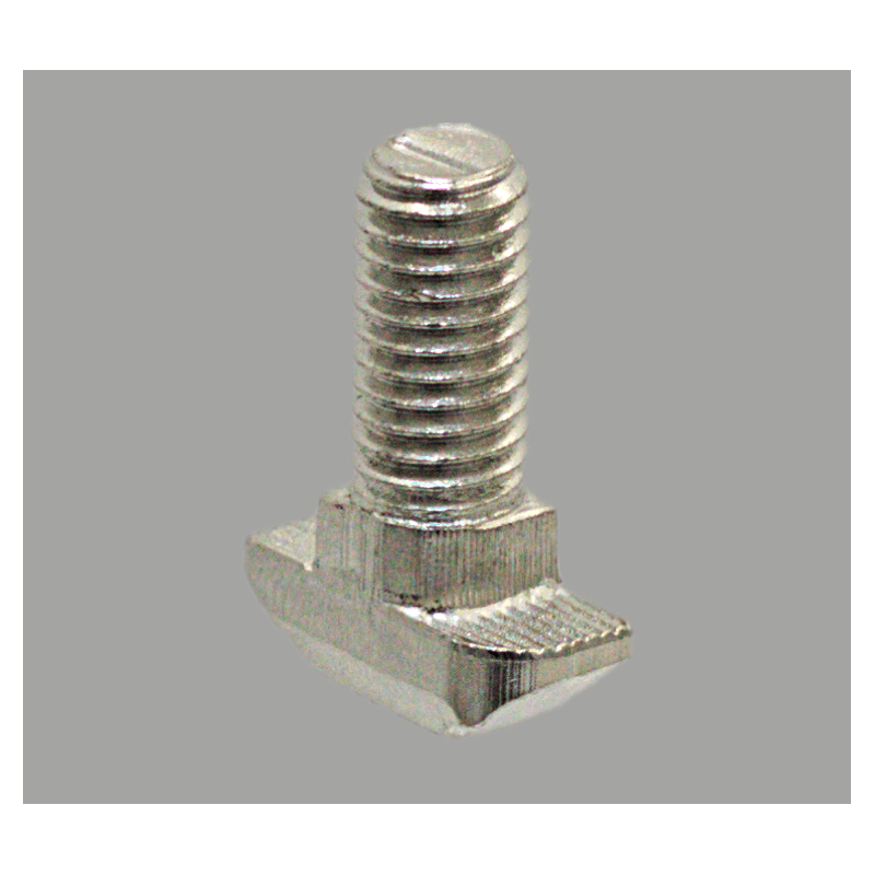 Boulon marteau M8x20 pour profilés à fente de 10 mm