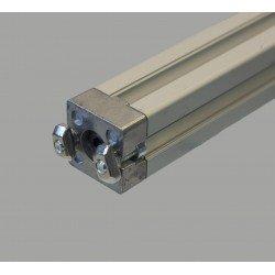 Kit connecteur en T 40x40 - Fente de 10 mm