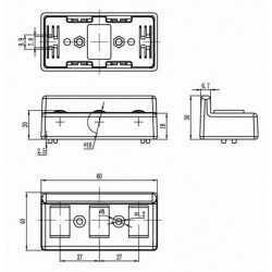 Roller element - with guide