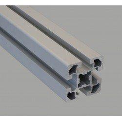 Profilé aluminium 45x45 4 fentes 10 mm