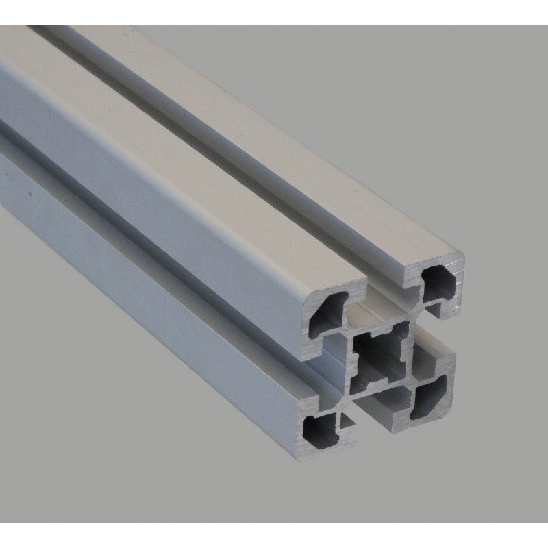 Aluminium profile 45x45 four 10mm slots