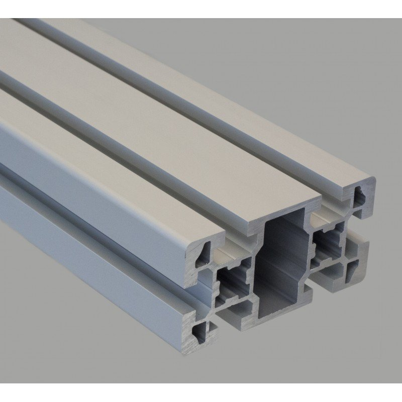 Aluminium profile 45x90 10mm slot