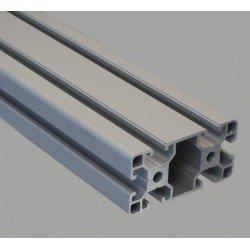 Profilé aluminium 40x80 fente 8 mm