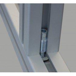 Fixation automatique pour profilés à fente de 10 mm