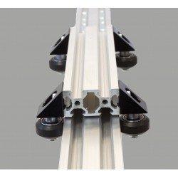Profilé aluminium V-SLOT 20x80 fente 6 mm