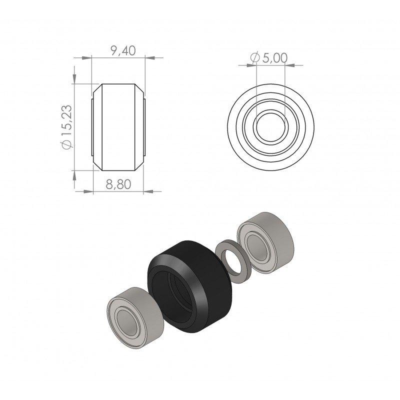 V-SLOT Mini Wheel Xtreme