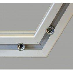 Joint de serrage rapide pliable pour profilés à fente de 10 mm - version horizontale