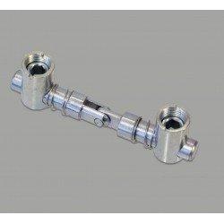 Joint de serrage rapide pliable pour profilés à fente de 10 mm - version verticale