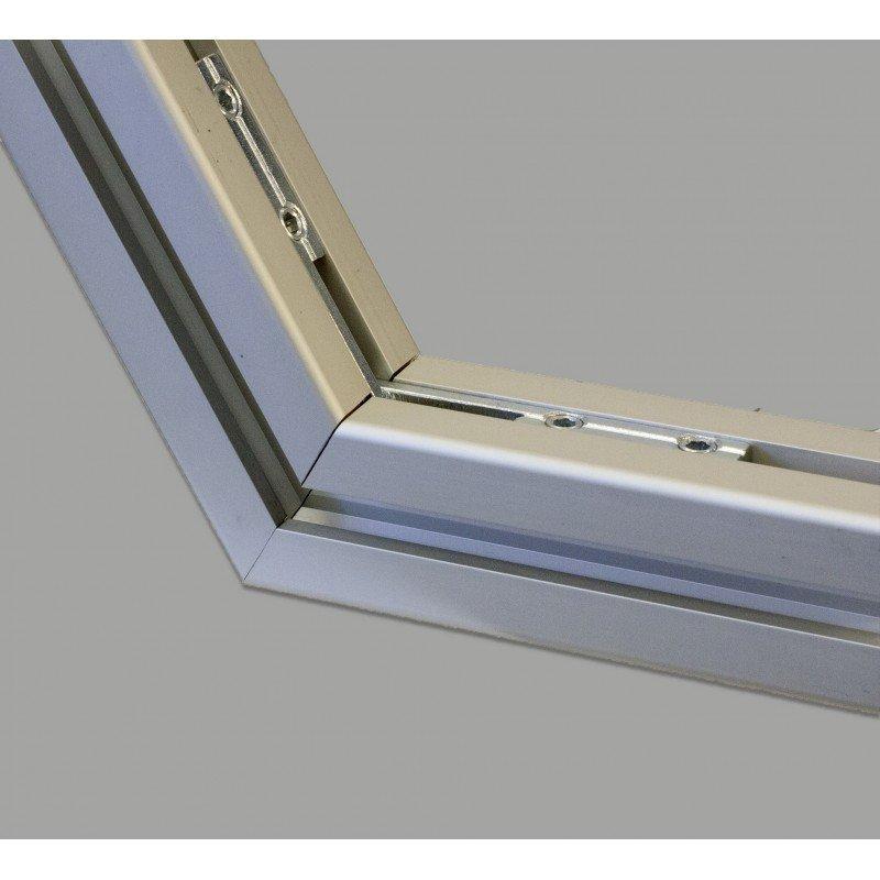 Bendable long nut for 10 mm slot - vertical version