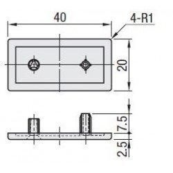 EMB-P6-VIS-2040-Gris