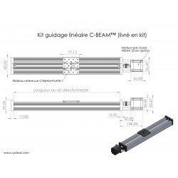 C-BEAM ™ Linear Actuator Kit