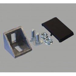 Fastening bracket 36x36 for 8 mm slots profiles