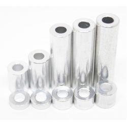 Entretoise aluminium diamètre interieur 5 mm