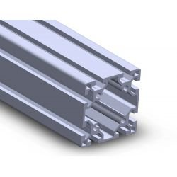 Aluminium profile 80x80 10mm slot
