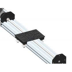 Linear guide kit with lead screw for Nema 23 motor