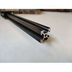 V-SLOT Aluminium profile 20x20 6mm slot - Black anodized