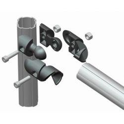 Connecteur interne rotulé pour profilé D43