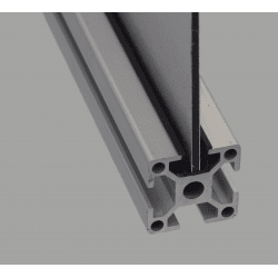 Cover and reduction profile – for 8mm slot