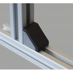 Fastening bracket for 80 profile with 10mm slot
