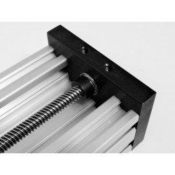 V-SLOT Aluminium profile C-BEAM 40x80 6mm slot - Black anodized