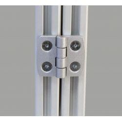Charnière en aluminium pour profilé 30x30