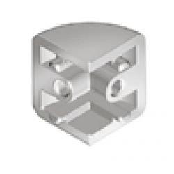 Connecteur de coin pour panneau de verre
