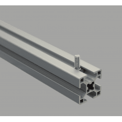 Boulon marteau M8x20 pour profilés 40 fente de 8 mm