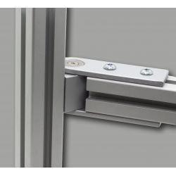 Jonction pivotante 180° pour profilés 40x40