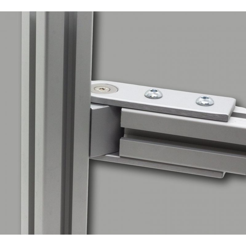 Pivot joint 180° for 40x40 profiles
