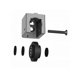Sliding door guide connector for 40 profiles with 10 mm slot