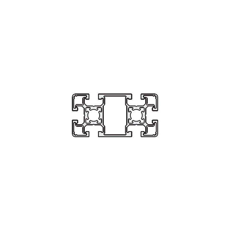 Profilé 45x90 fente 10 mm - type léger
