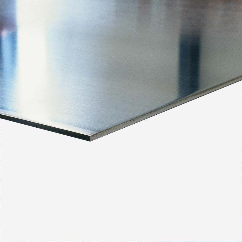 Anodized aluminum plate 1 mm thick