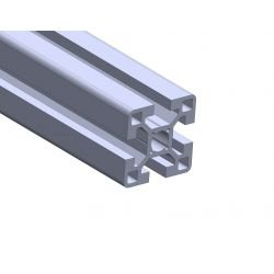 Aluminium profile 40x40 10mm slot