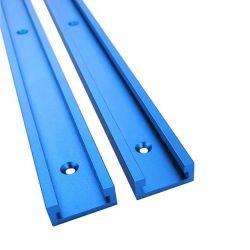 Rail en T Longueur 1220mm - Bleu