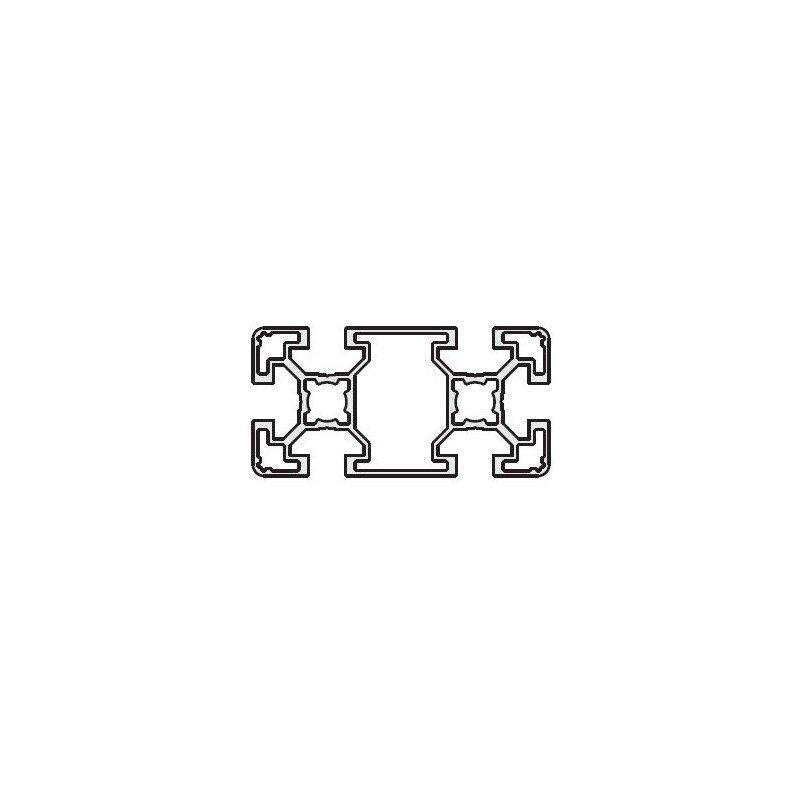 Profilé 40x80 fente 10 mm - type léger