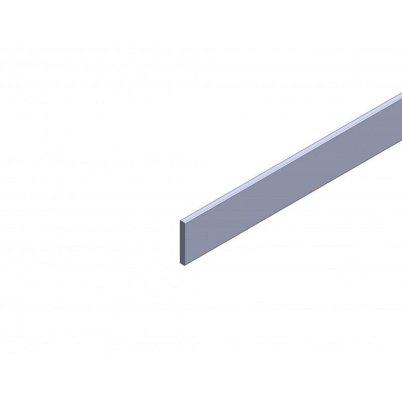 Profilé Aluminium Plat 10 Mm épaisseur 3 Mm Systéal