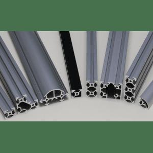 Profilés aluminium rainure 6 mm