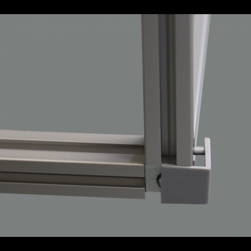 assemblage de trois profil s aluminium par raccord d 39 angle syst al. Black Bedroom Furniture Sets. Home Design Ideas