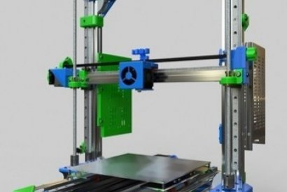 Mounting a 3D printer AM8 MGN12 BLV